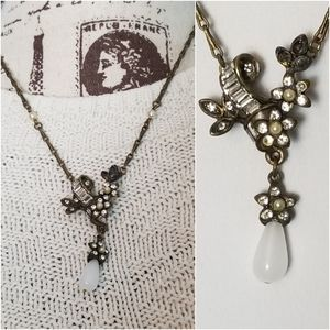 Sweet Romance Victorian Antiqued Style Necklace